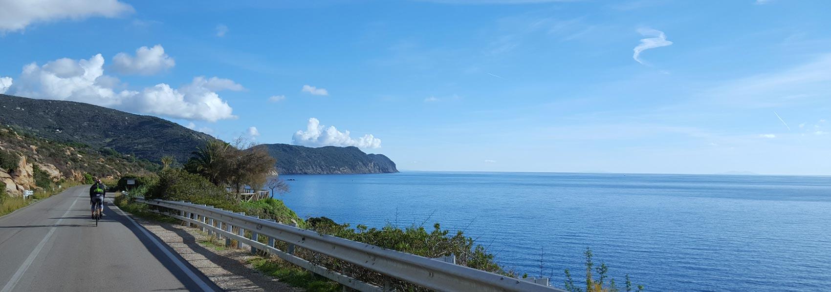 Isola d'Elba bici percorsi ciclismo