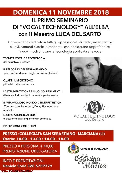 Seminario di Vocal Technology