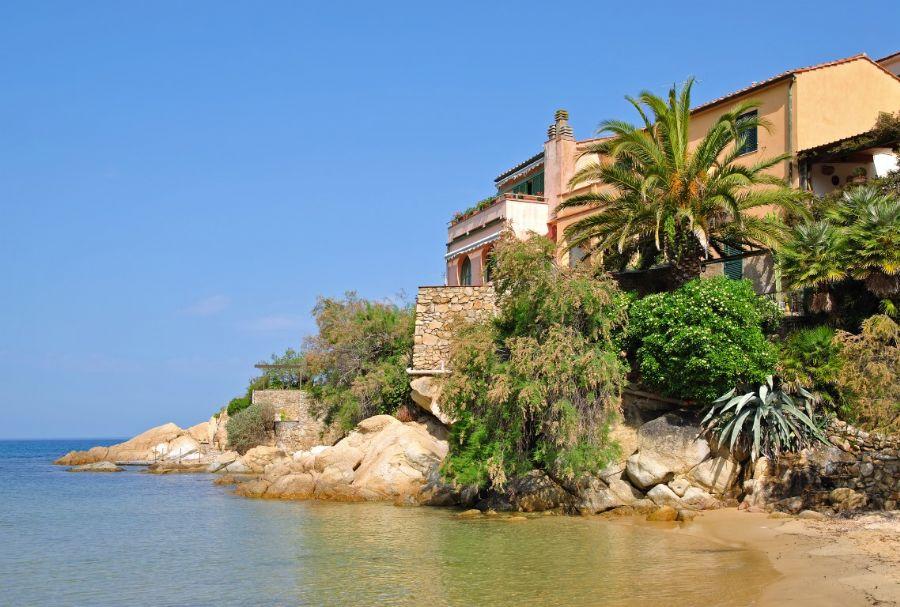 Toskana Haus Am Meer : Spiaggia scaglieri portoferraio isola d elba