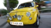 Fiat 500 tarocca al Rally Elba Storico