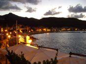 lungomare di Marciana Marina by night