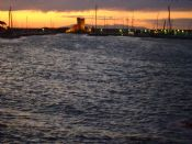 Torre Medicea di Marciana M. al tramonto
