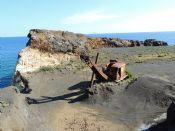 Vecchio escavatore a Punta Calamita