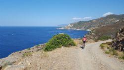 Mountainbike nel Monte Calamita