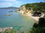 Spiaggia dei Peducelli a pochi mt da Villa Verde