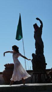 Festa dell'Uva danzatrice con il Bacco