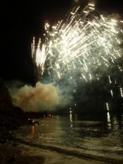 Fuochi d'artificio alla Leggenda dell'Innamorata
