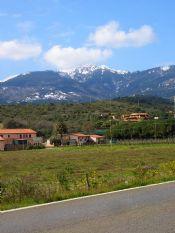 Neve sui monti dell'Elba