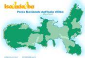 Cartina del Parco Nazionale dell'Isola d'Elba